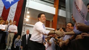 USA: Senator Rubio wygrał wybory GOP w Portoryko