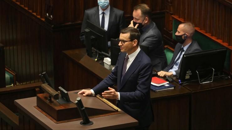 Sondaż IBRIS: 45 proc. badanych źle ocenia pracę premiera Mateusza Morawieckiego