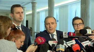 Schetyna o zatrzymaniu Gawłowskiego: polityczne polowanie na posłów opozycji