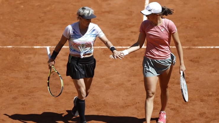 Roland Garros: Triumf Czeszek w deblu! Iga Świątek i Bethanie Mattek-Sands uległy w dwóch setach