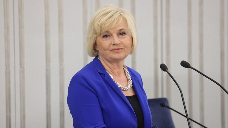 Lidia Staroń nie będzie nowym Rzecznikiem Praw Obywatelskich. Senat zdecydował