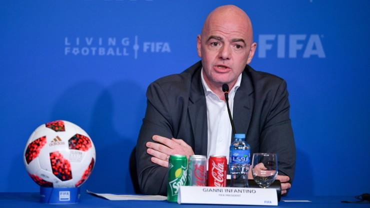 MŚ 2022. Infantino: Zgoda na więcej uczestników turnieju w Katarze