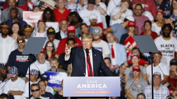 """Donald Trump atakuje Joe Bidena. """"Kryzys w Afganistanie najgłupszą rzeczą w historii"""""""