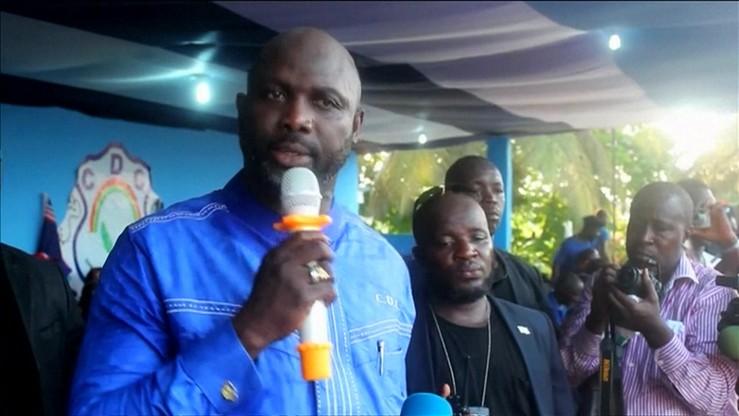 Były najlepszy piłkarz świata może zostać prezydentem Liberii