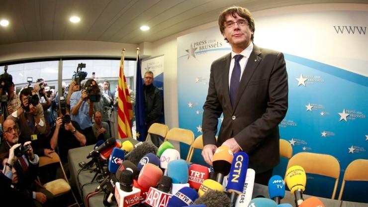 """Puigdemont: uwięzienie byłych katalońskich ministrów to """"poważny błąd"""""""