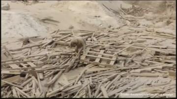 Porwała ją lawina błotna, cudem przeżyła. Niezwykłe wideo z Peru