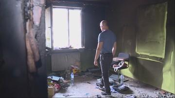 """Dzielnicowy w pożarze stracił wszystko, jego rodzina potrzebuje pomocy. """"Kręci się łezka w oku"""""""