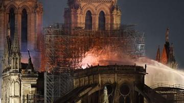 Trwa narodowa zbiórka na odbudowę katedry Notre Dame. Zebrano ponad 2 mln euro. Kwota rośnie