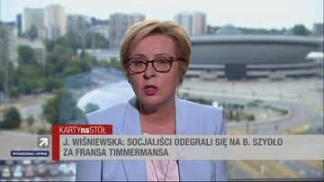 Wiśniewska: Beata Szydło to mocny polityk, będzie pracować w komisji i robić, co do niej należy