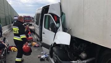 Wypadek na A2. Autostrada zamknięta przed granicą z Niemcami