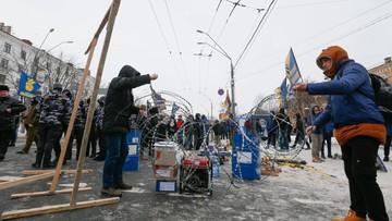 Ukraińscy nacjonaliści zablokowali placówki dyplomatyczne Rosji