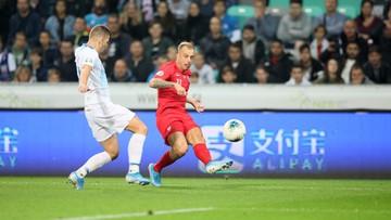 2:0 dla Słowenii. Polscy piłkarze przegrali mecz w eliminacjach do Euro 2020