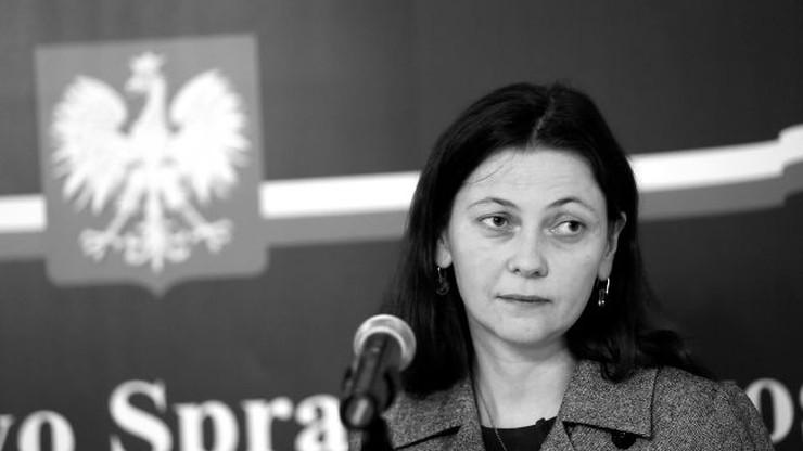 Nie żyje była wiceminister sprawiedliwości Monika Zbrojewska