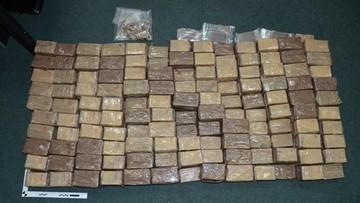 Białystok: Rosjanin skazany za próbę przemytu haszyszu na Białoruś. Wiózł prawie 100 kg narkotyku