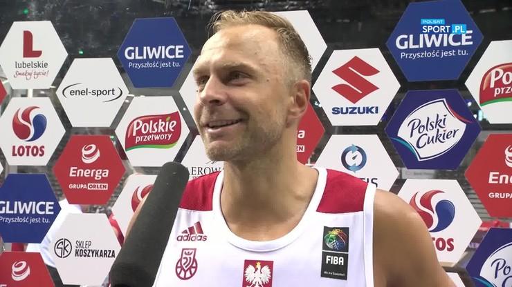 Łukasz Koszarek: Rywale grali bardzo twardo