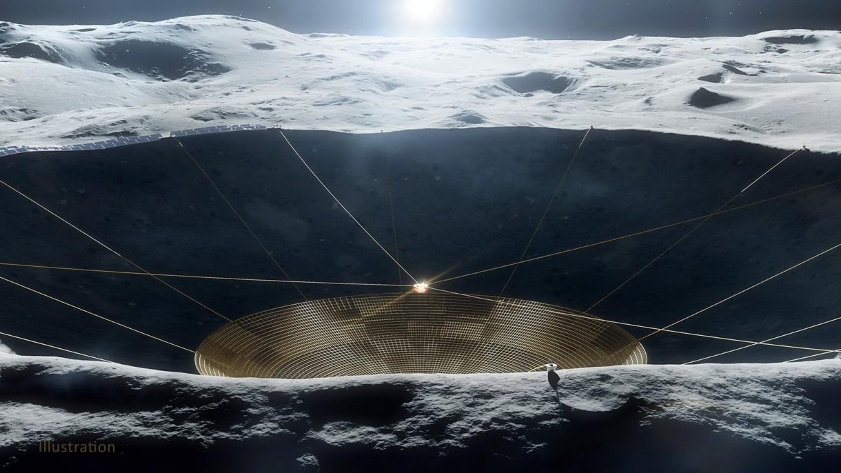 NASA przeznaczyła środki na budowę pierwszego radioteleskopu w kraterze na Księżycu