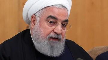 Prezydent Iranu: jeśli Ameryka chce popełnić kolejną zbrodnię, otrzyma mocniejszą odpowiedź