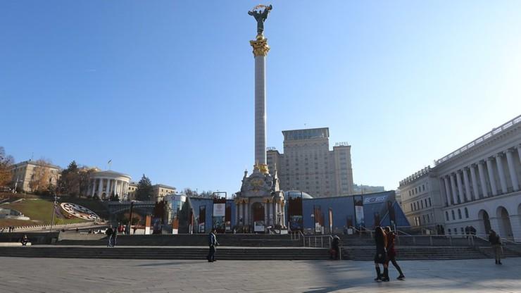 Weteran wojny w Donbasie podpalił się na Majdanie w Kijowie