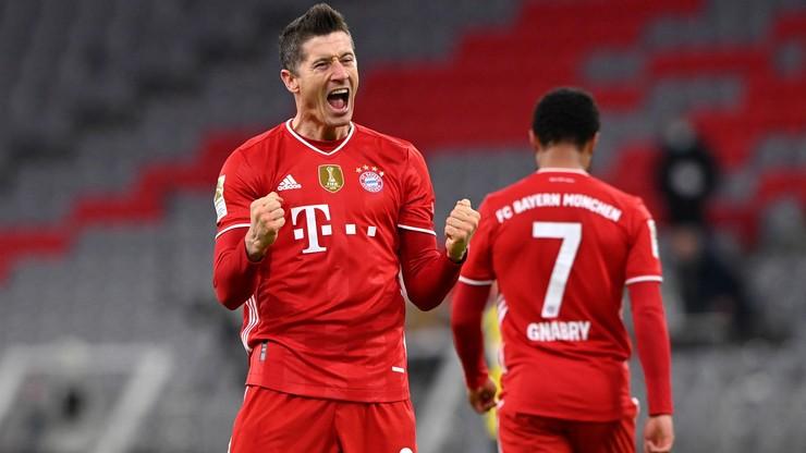 Bundesliga: Robert Lewandowski najlepszym piłkarzem kolejki