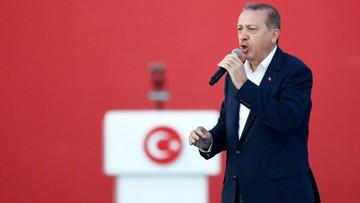 Erdogan: donos na zwolennika Gulena to patriotyczny obowiązek