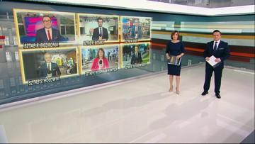 Wieczór wyborczy w Polsat News [OGLĄDAJ]