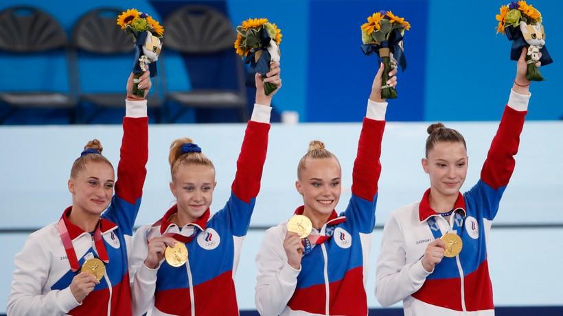 Tokio 2020: Rosyjskie gimnastyczki najlepsze w wieloboju drużynowym