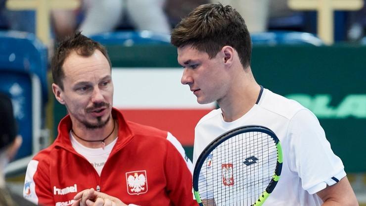 Puchar Davisa. Szymanik: Nasze miejsce jest wśród 20 czołowych drużyn na świecie