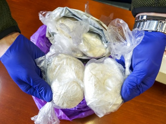 Funkcjonariusze przejęli znacznie ilości narkotyków.