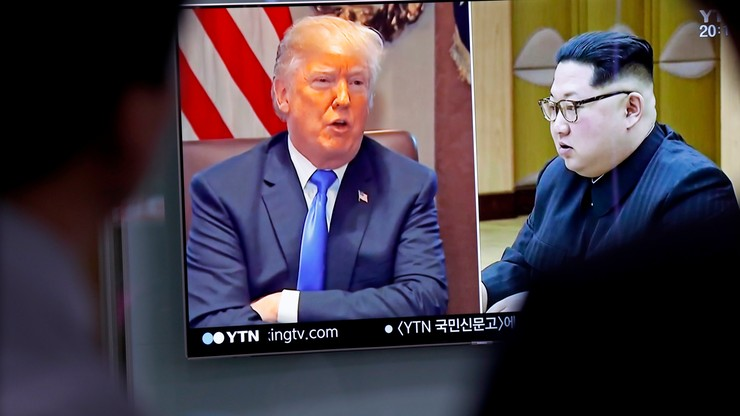 """Trump odwołał spotkanie z Kimem. """"Amerykańska armia jest gotowa do działania"""""""