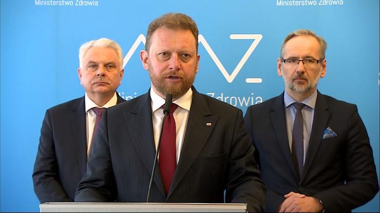 Minister zdrowia: cyfry rosną. Przyrost liczby zachorowań w najbliższych dniach będzie szybki