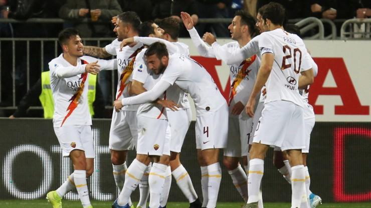 Serie A: Szalony mecz w Cagliari. Siedem goli i triumf Romy