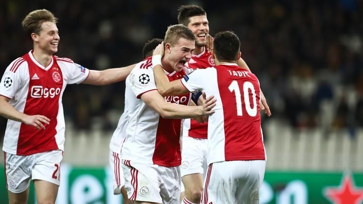 Ajax Amsterdam wykonał kolejny krok w kierunku wywalczenia mistrzostwa