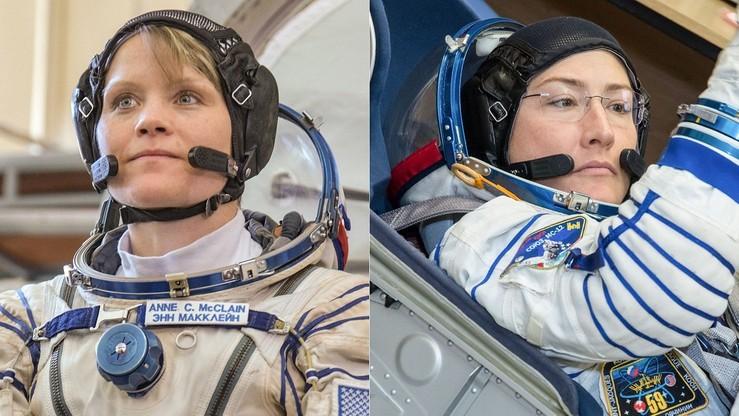 Nie będzie pierwszego w historii spaceru w kosmosie kobiet. Bo nie wystarczyło dla nich kombinezonów