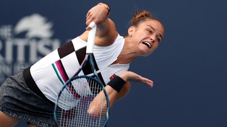 WTA w Rabacie: Sakkari zagra z Kontą o pierwszy tytuł w karierze