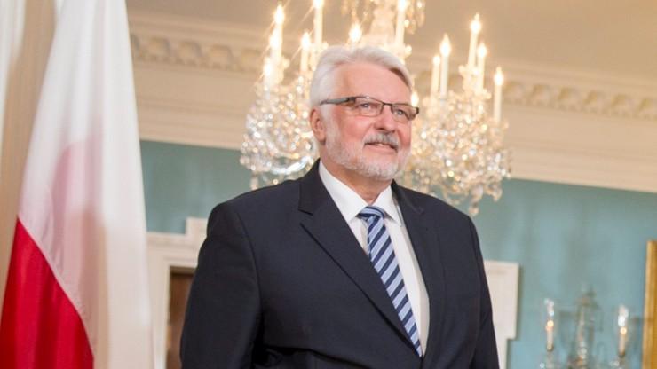 Waszczykowski: nie ma planu mojego odejścia z rządu ani objęcia ambasady przy ONZ