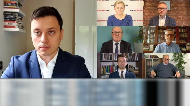 """""""Śniadanie w Polsat News"""". """"Premier tchórzy przed opinią publiczną"""""""