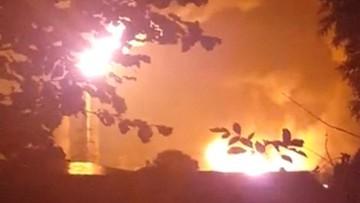 Eksplozja i pożar w rafinerii na południu Niemiec. Osiem osób rannych