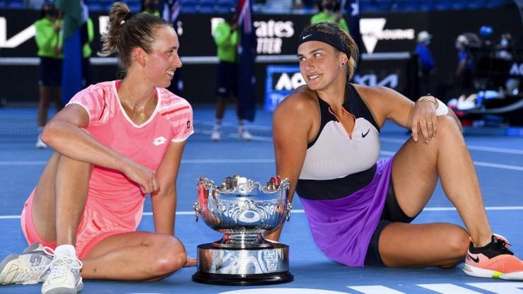 Australian Open: Drugi tytuł wielkoszlemowy dla duetu Elise Mertens i Aryna Sabalenka