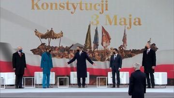 230. rocznica uchwalenia Konstytucji 3 Maja. Prezydenci przyjęli wspólną deklarację