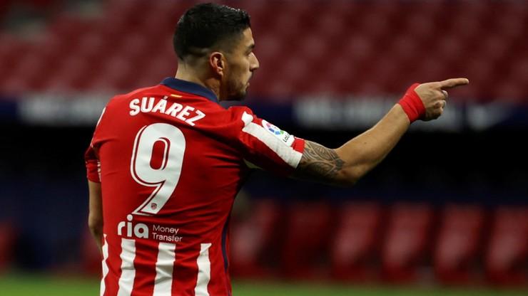 La Liga: Dwa gole Luisa Suareza nie dały Atletico zwycięstwa