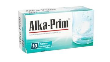 Jedna seria Alka-Prim wycofana z aptek. Lek psuł się w opakowaniach