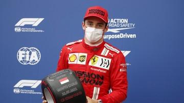 GP Monako: Leclerc zdobył pole position mimo wypadku