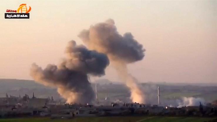 Raport: w kwietniowym ataku w Syrii użyto sarinu