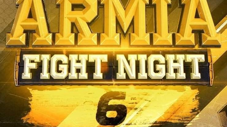 Armia Fight Night 6. Transmisja w Polsacie Sport i Polsacie Sport Fight
