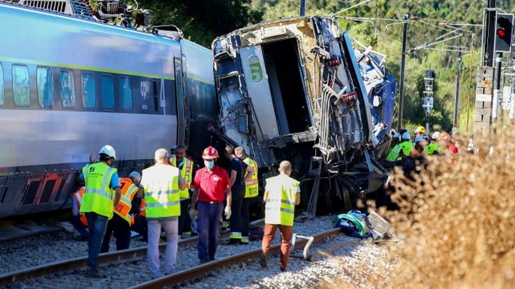 Katastrofa kolejowa w Portugalii. Dwie osoby nie żyją, wielu rannych
