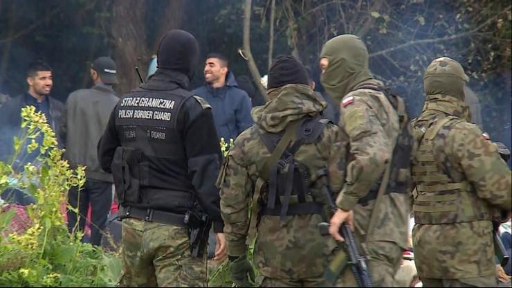 Imigranci na granicy z Białorusią. Tysiące osób chcą się dostać nielegalnie do Polski