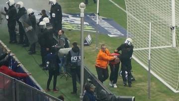 Pseudokibice zatrzymani w trakcie meczu GKS Tychy - Ruch Chorzów. Setki policjantów w mieście