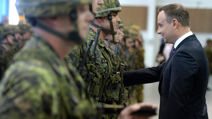 Prezydent Duda w Kanadzie: NATO stoi na straży prawa międzynarodowego