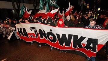 Marsz Żołnierzy Wyklętych w Hajnówce. Na trasie kontrmanifestacja