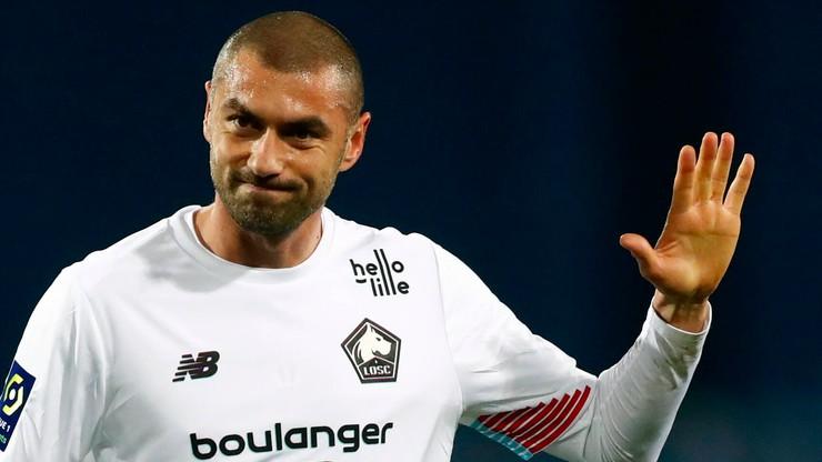 Lille pokonało Olympique Lyon. Piękny gol z rzutu wolnego (WIDEO)
